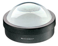 Dome magnifier with black raised base