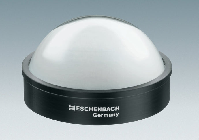 Dome magnifier with black base