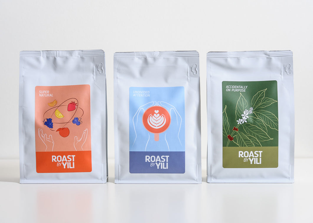 The Roast by Yili Sample Pack (3 x 250g)