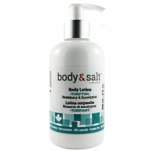 Body & Salt Tonifying Body Lotion 8oz - Rosemary & Eucalyptus