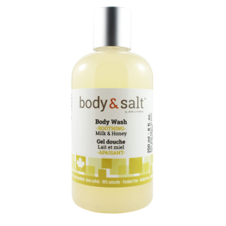 Body & Salt Soothing Body Wash 8oz - Milk & Honey