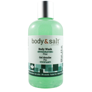 Body & Salt Invigorating Body Wash 8oz - Pine