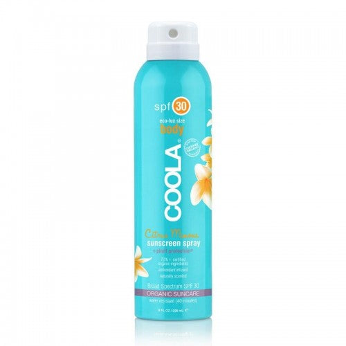 Coola Citrus Mimosa SPF 30 Body Sunscreen Spray