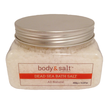 Body & Salt - Dead Sea Bath Salt - All Natural 550g