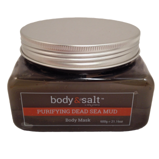 Body & Salt - Purifying Dead Sea Mud - Body Mask - 600g