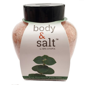 Body & Salt Pure Himalayan Bath Salt - 30 oz - Eucalyptus