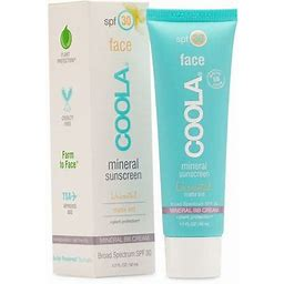 Coola Unscented SPF 30 Tint Face Sunscreen