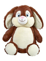 Personalised Bunny Cubby (Brown)