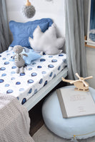 Cloud Chaser - Fitted Cot Sheet