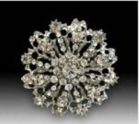 Luxury Diamante Crown Embellishment (Each)