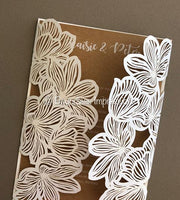 DIY Floral Lace - Lasercut Enclosure + Envelope