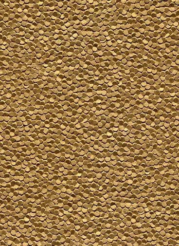 Embossed Pebble Paper - Gold