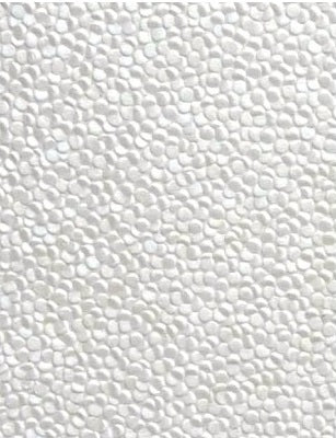 Embossed Pebble Paper - White