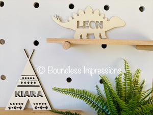 Personalised Wooden Cutouts