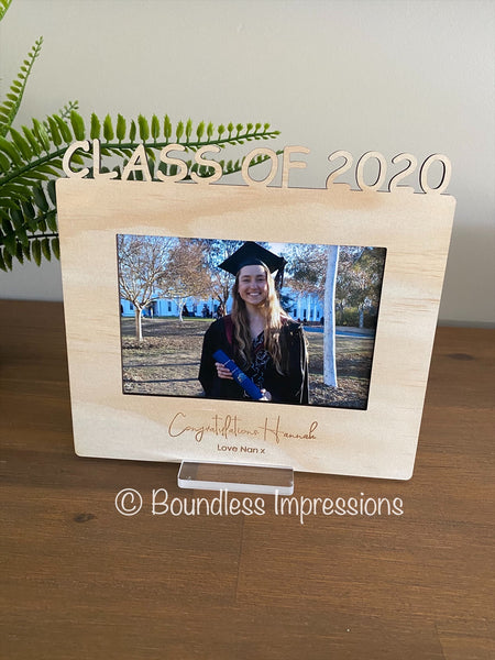 Custom Graduation Frame