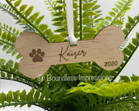Timber Pet Christmas Tree Ornaments