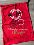 Personalised Santa Sack (Express Red) No.2