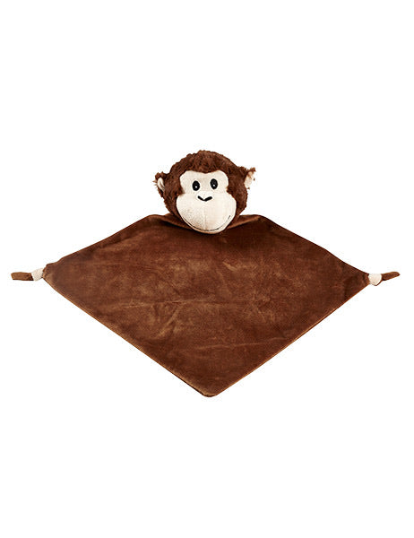 Personalised Security Blanket - Monkey