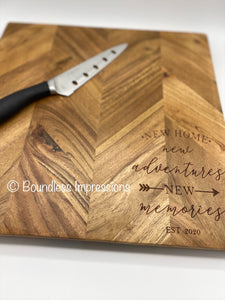 Custom Made Chopping Boards