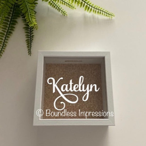 Personalised Money Box (Square)