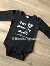 Load image into Gallery viewer, '1st Mother's Day' Long Sleeve Bodysuit
