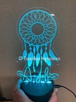 Personalised Colour Changing Night Lights