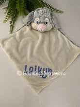 Load image into Gallery viewer, Personalised Security Blanket - Bunny (Grey)