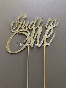 Cake Topper (2 Lines)