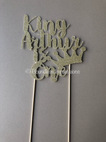 Cake Topper (4 Lines)