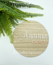Load image into Gallery viewer, Birth Announcement/Name Plaque