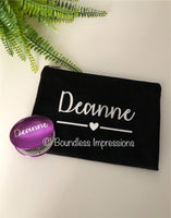 Make-up Bag & Compact Mirror (Set)