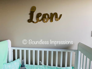 Extra Large Name Plaque (80cm)