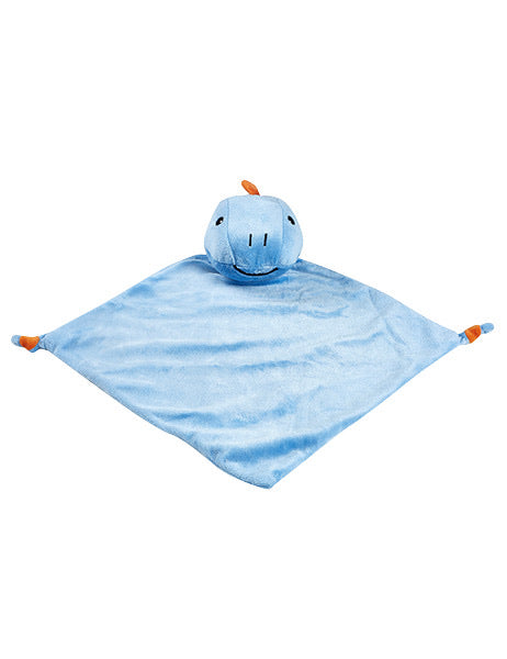 Personalised Security Blanket - Dinosaur (Blue)