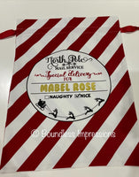 Personalised Santa Sack (North Pole Mail Service) No.3