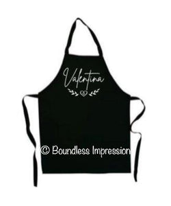 Matching Custom Made Apron (Set)