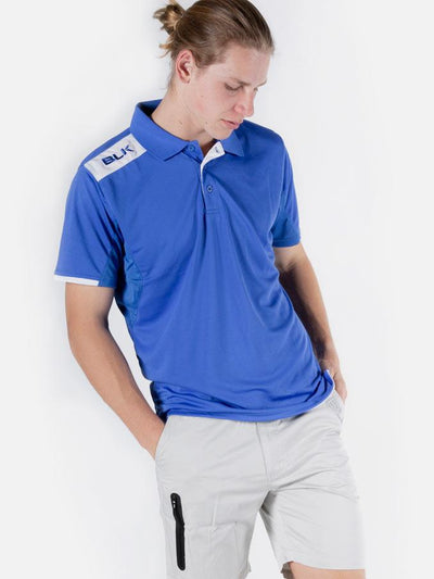 Blk Tek 6 Polo Mens Royal Xs /