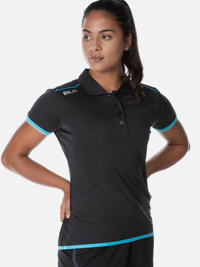 Performance Polo Ladies Black
