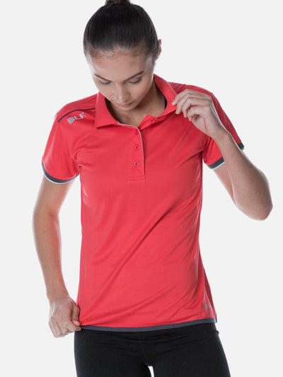 Performance Polo Ladies Crimson
