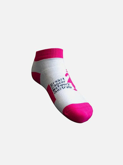 Pink Sports Day Ankle Socks Accessory