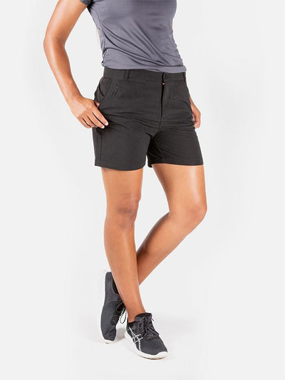 Ladies Leisure Short Black Shorts