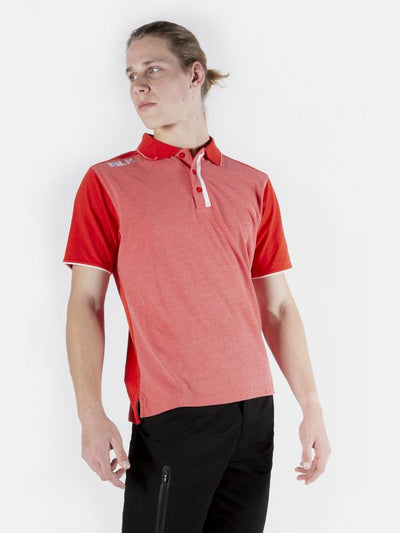 Lifestyle Polo Mens Red