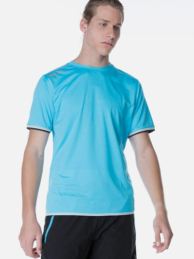 Performance Mens Tee Cyan