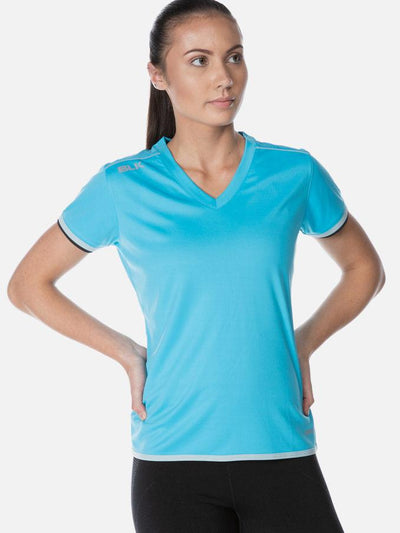 Performance Ladies Tee Cyan