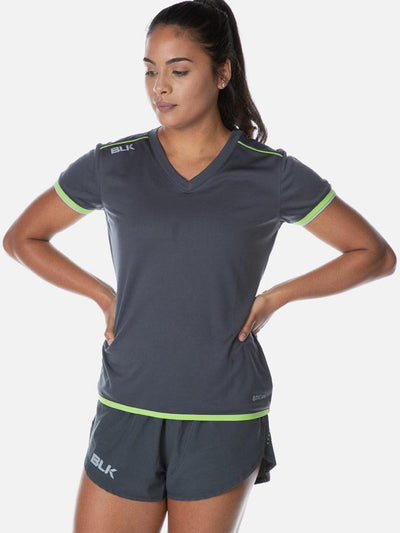 Performance Ladies Tee Gun Metal