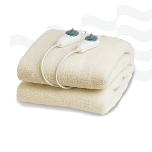Fleecy Topper Electric Blanket Queen GFL-Q