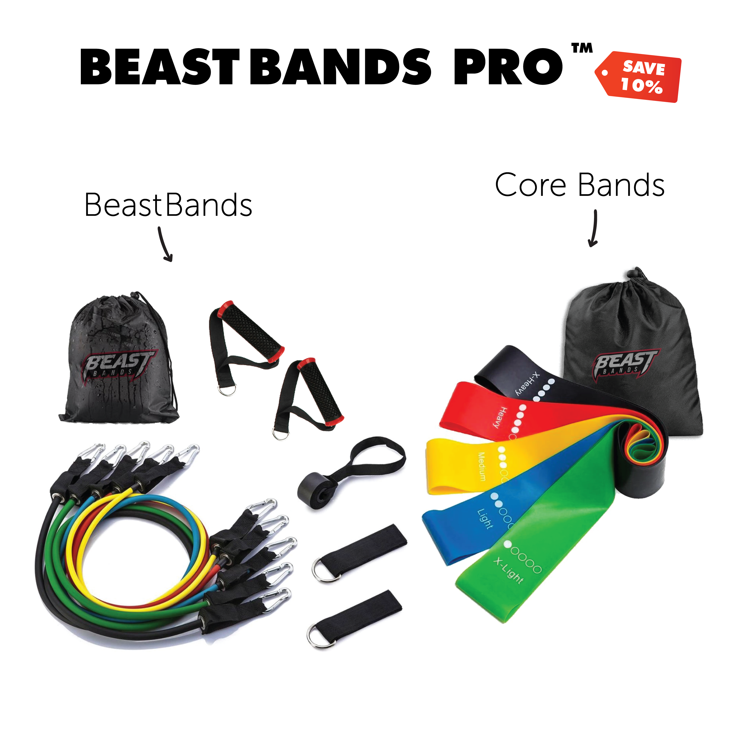 BeastBands Pro™ 16pc