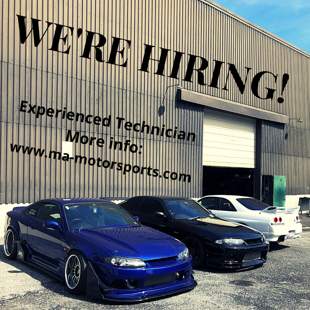 We're Hiring:  Experienced Technician