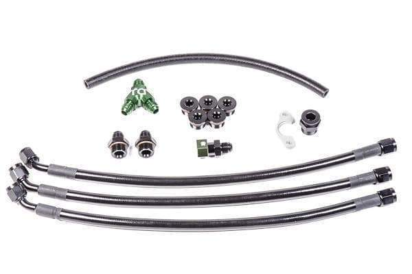 VQ35DE Fuel Rail Plumbing Kit - Radium