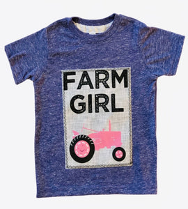 Farm Girl Patch Tee