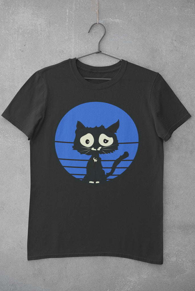 Blue Cat - T-Shirt -stonedrockz.de